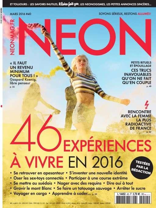 Neon 40 - Mars 2016