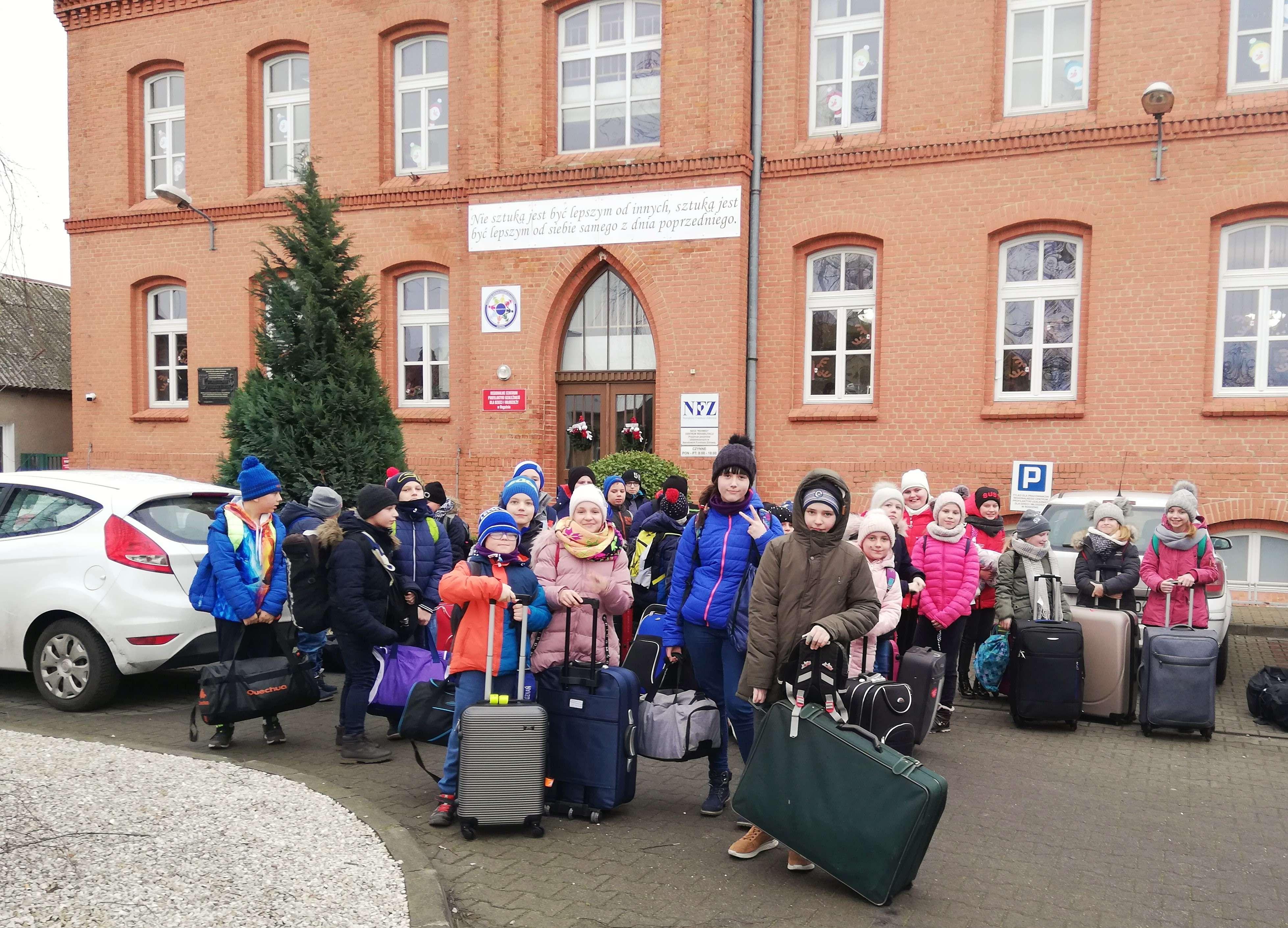 Uczniowie zSP Chełmno wCentrum Profilaktyki wRogoźnie