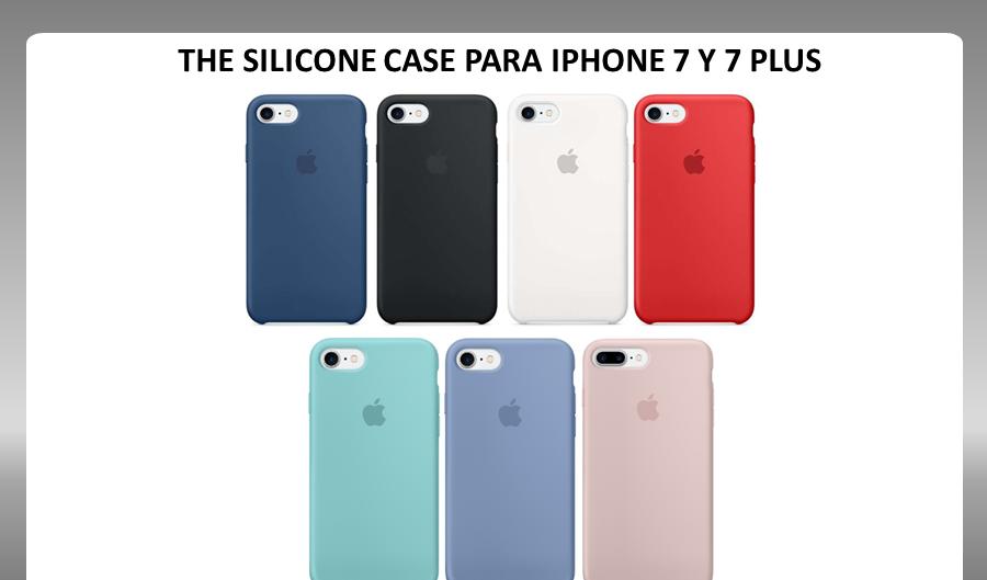 funda iphone 7 silicon case