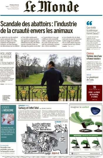 Le Monde du Mercredi 30 Mars 2016