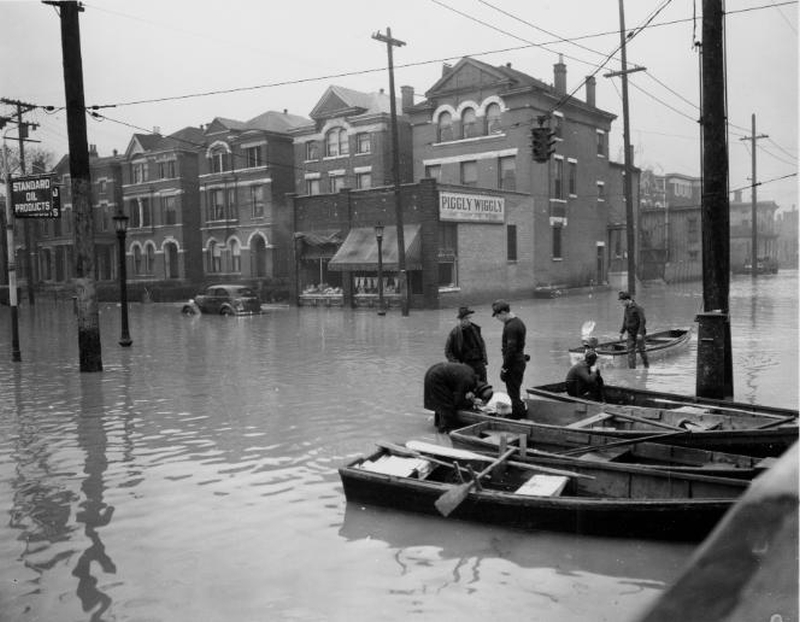1937 Great Flood of Louisville & Southern Indiana 01
