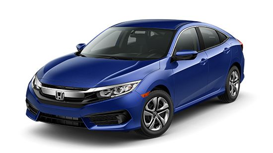 2016 Honda Civic Sedan Lease Deal