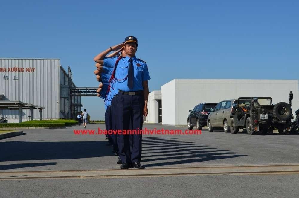 Công ty bảo vệ quân  hoàn kiếm