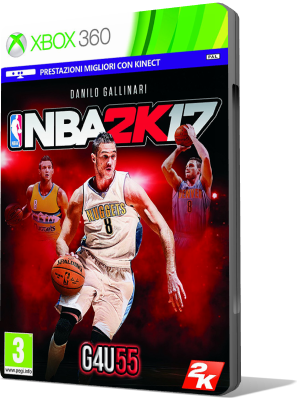 NBA 2K17 DOWNLOAD XBOX 360 SUB ITA (2016)