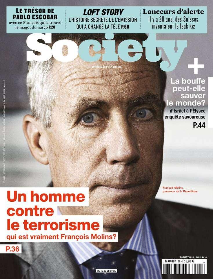 Society - 15 au 28 Avril 2016