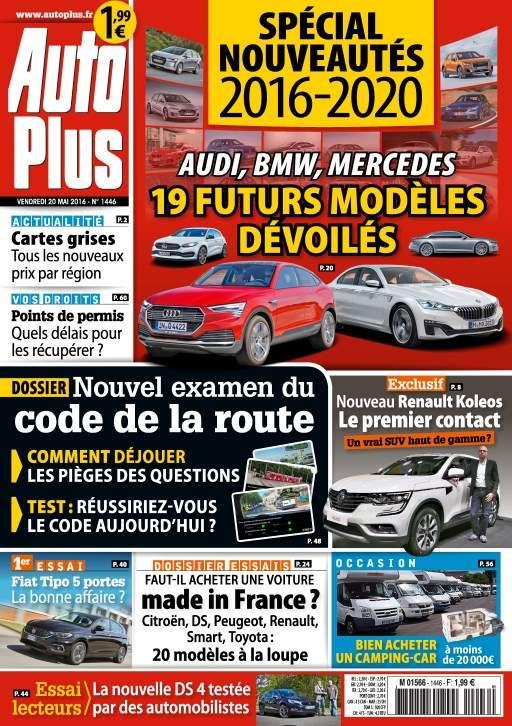 Auto Plus 1446 - 20 au 26 Mai 2016