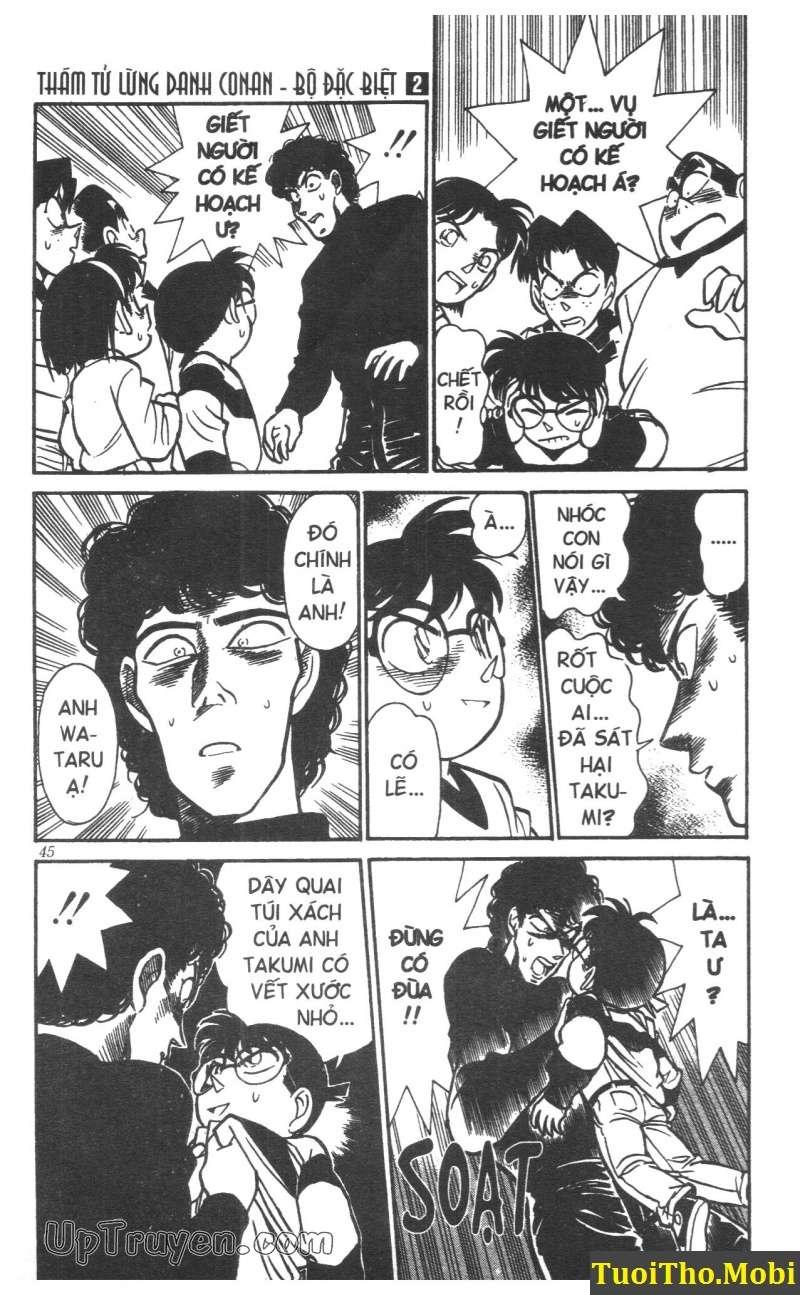 đọc truyện Conan bộ đặc biệt chap 11 trang 10