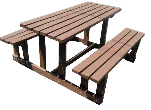 Mesa Para Jardin Ecomaqmx Modelo Frontera 150x150x80cms