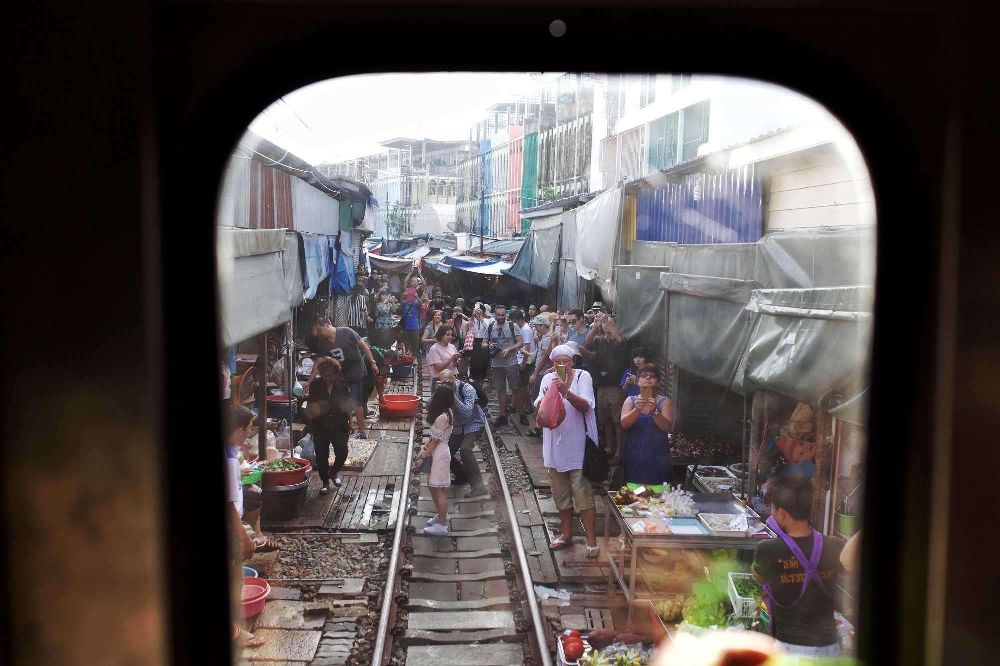 Bangkok Train Markets