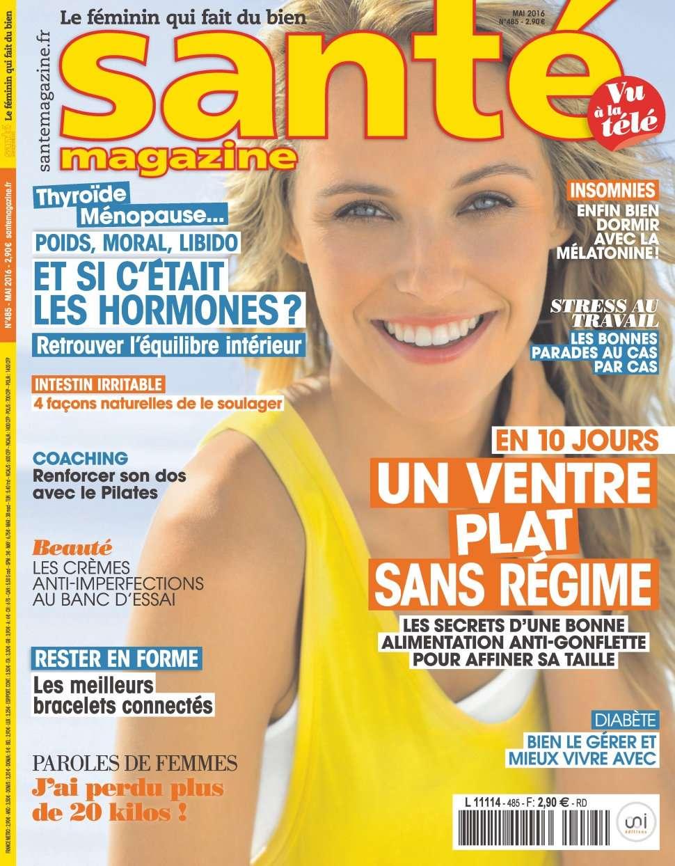 Santé magazine 485 - Mai 2016