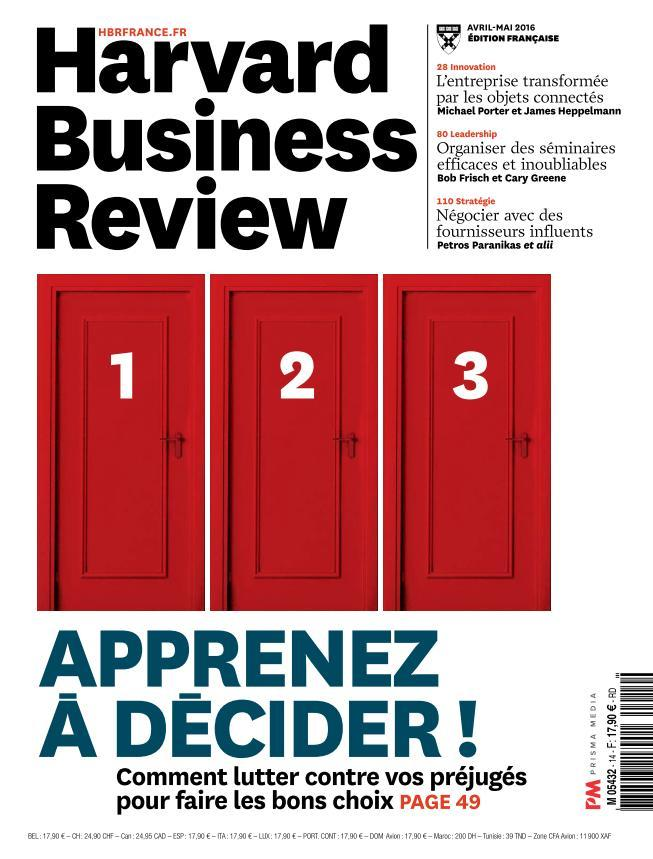 Harvard Business Review - Avril-Mai 2016