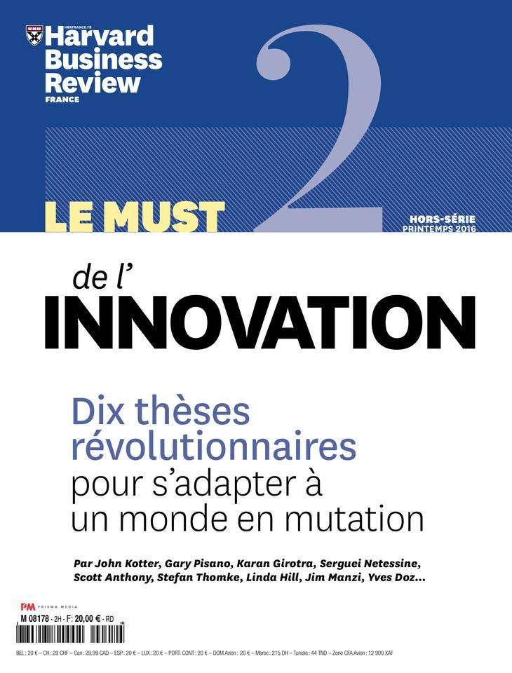 Harvard Business Review Hors-Série - Printemps 2016