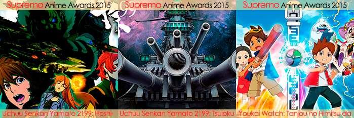 Eliminatorias Nominados a Mejor Película de Anime 2015