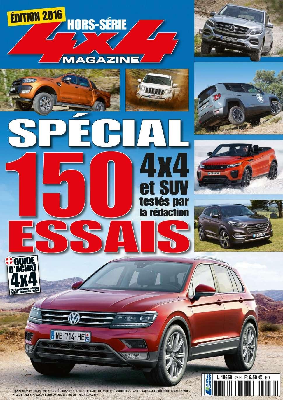 4x4 magazine Hors-Série 29 - Edition 2016