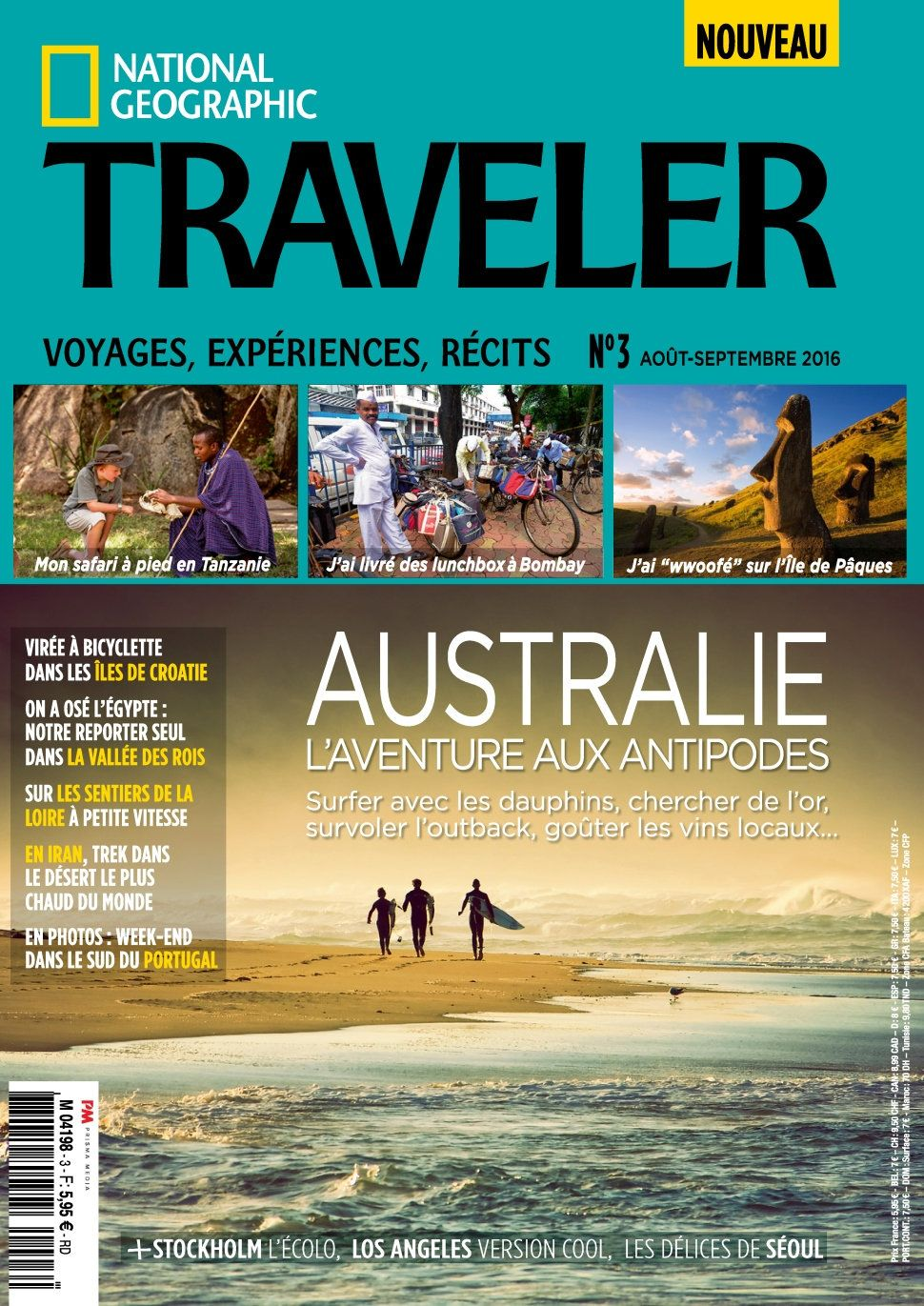 National Geographic Traveler 3 - Aout/Septembre 2016