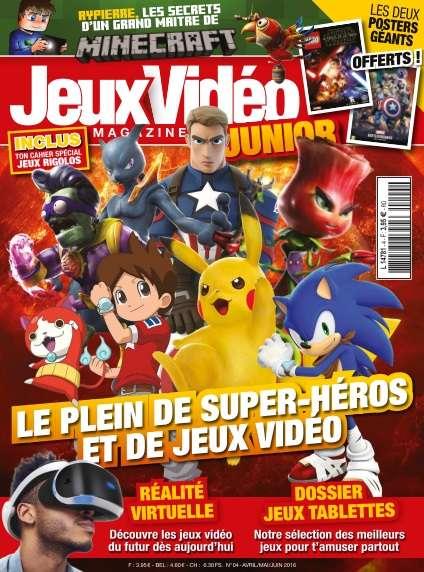 Jeux Vidéo Magazine Junior - Avril/Juin 2016