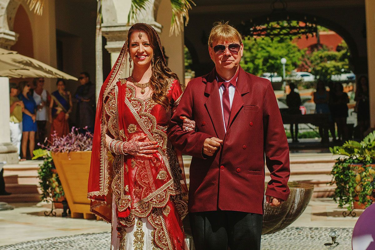 indian wedding at sheraton mexico
