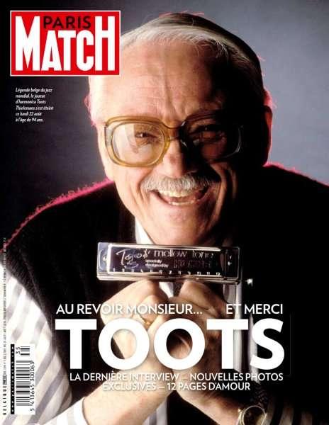 Paris Match Belgique 781 - 25 au 31 Août 2016