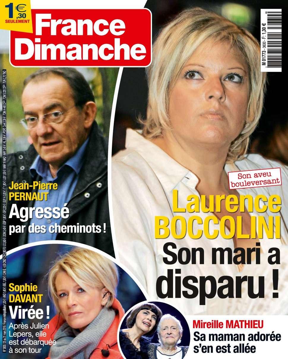 France Dimanche 3630 - 25 au 31 Mars 2016
