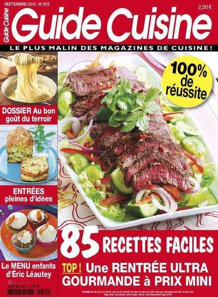 Guide Cuisine 255