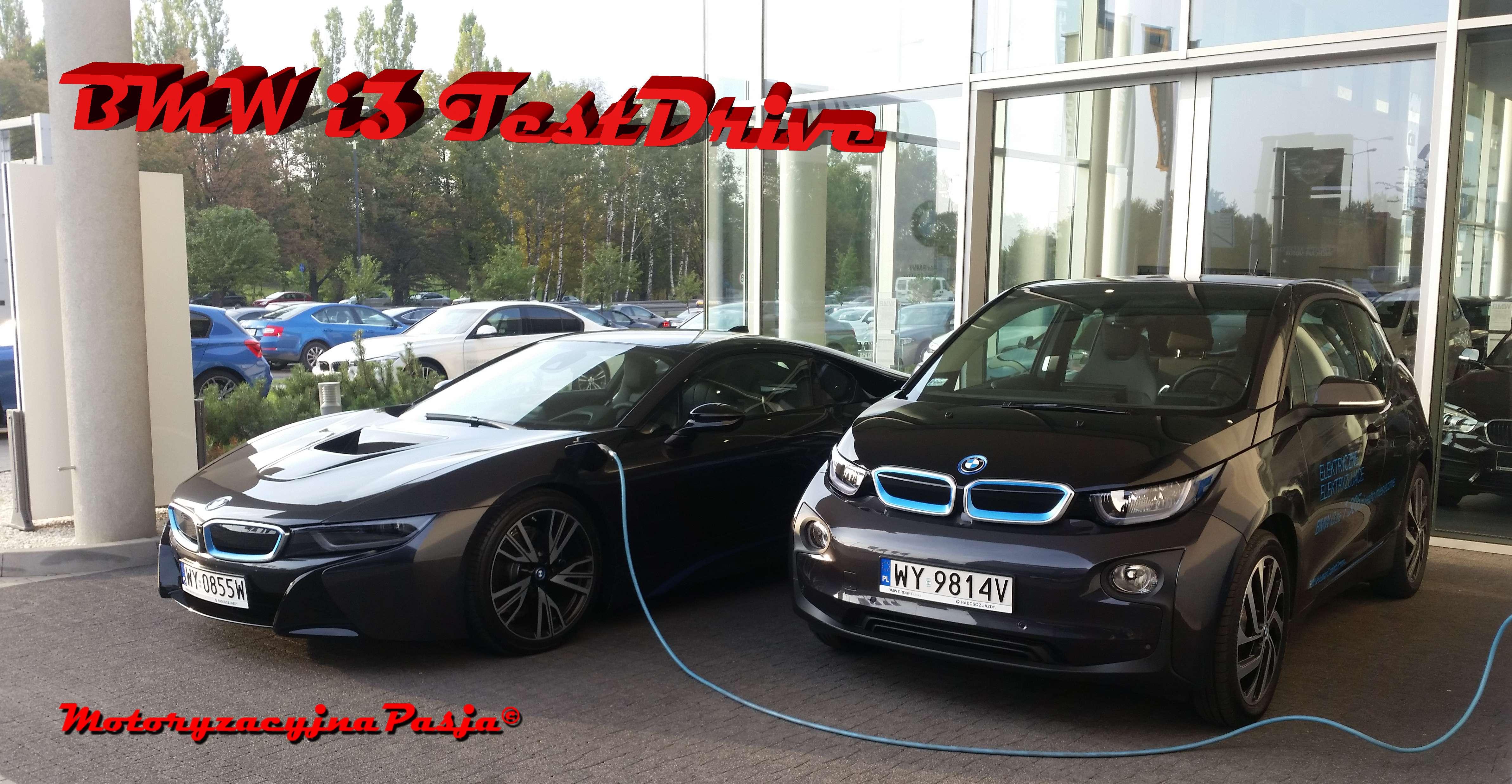 Tytułowe zdjęcie BMW i3 TestDrive