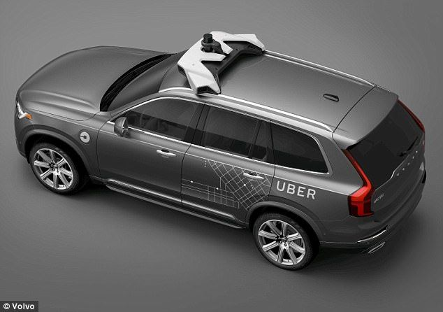 Uber Signs Deal With Volvo To Buy 24,000 Self-Driving SUVs For Taxi Fleet