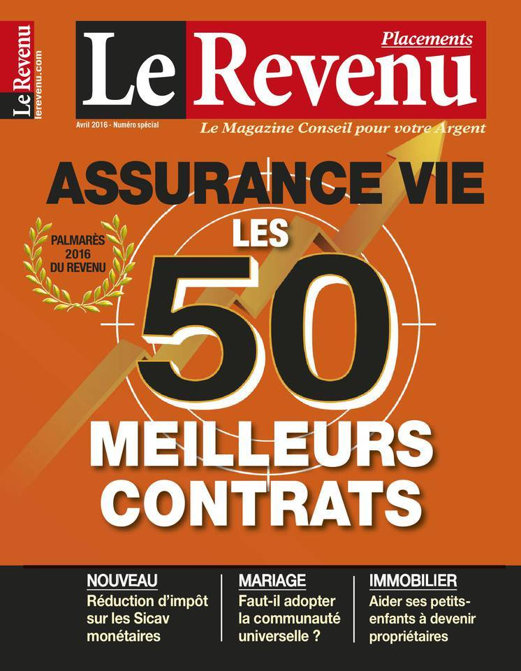 Le Revenu Placements - Avril 2016