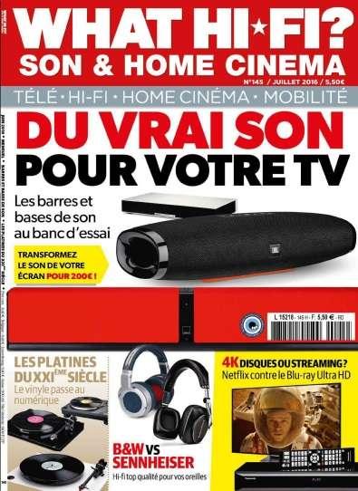 What Hi-Fi France - Juillet 2016