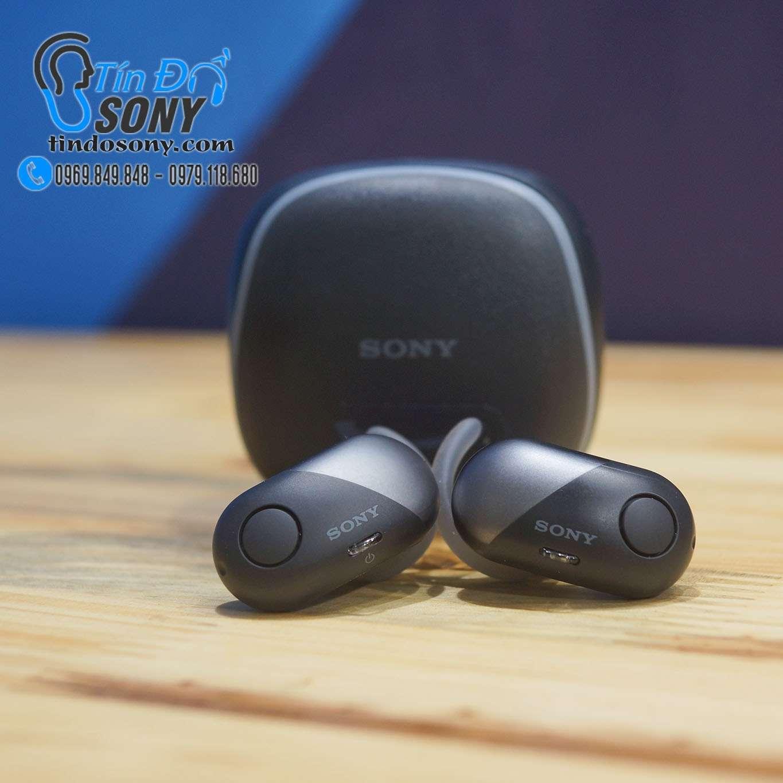 Tai nghe Sony WF-SP700N Black (Like New Fullbox)