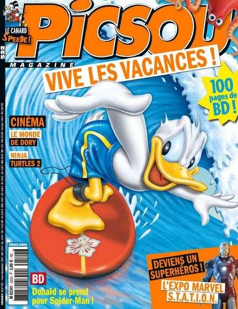 Picsou magazine 522 - Juillet 2016