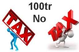 cá  nhân kinh doanh không phải nộp thuế khi doanh thu không vượt quá 100 triệu/năm