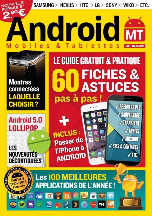 Android Mobiles et Tablettes 28 - 60 Fiches & Astuces
