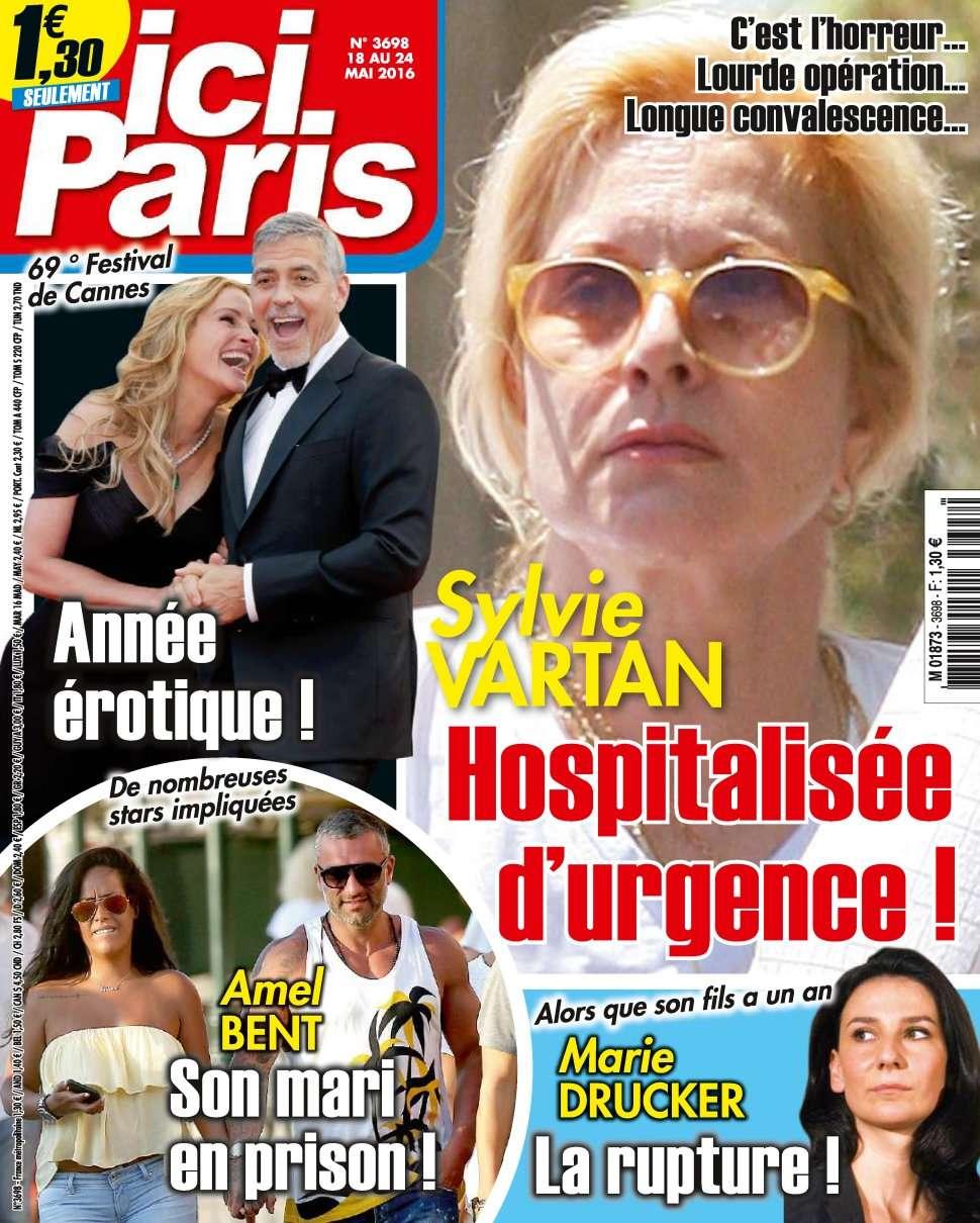 Ici Paris 3698 - 18 au 24 Mai 2016