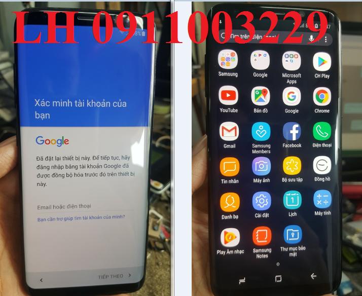 Unlock ,xóa xác minh tài khoản Samsung M10 M20 M30 M40 M50 9.0,Xóa mật khẩu passcode 9.0 ok
