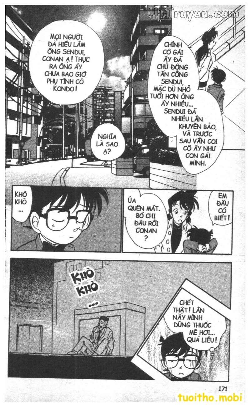 đọc truyện Conan bộ đặc biệt chap 26 trang 17