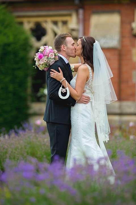 Stanbrook abbey wedding photo