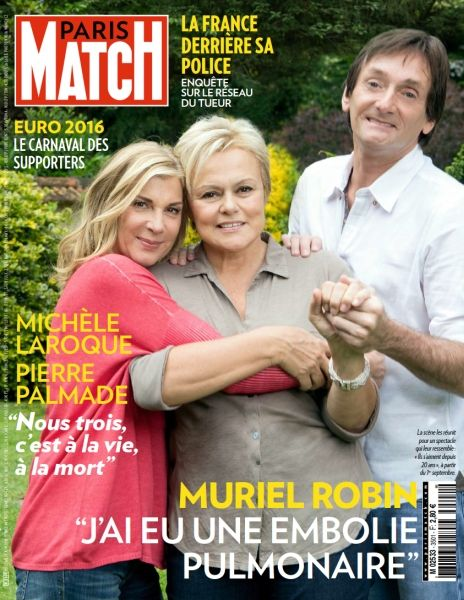 Paris Match 3501 du 23 au 29 Juin 2016