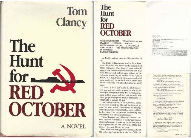 The Hunt for Red October: A Novel, Clancy, Tom