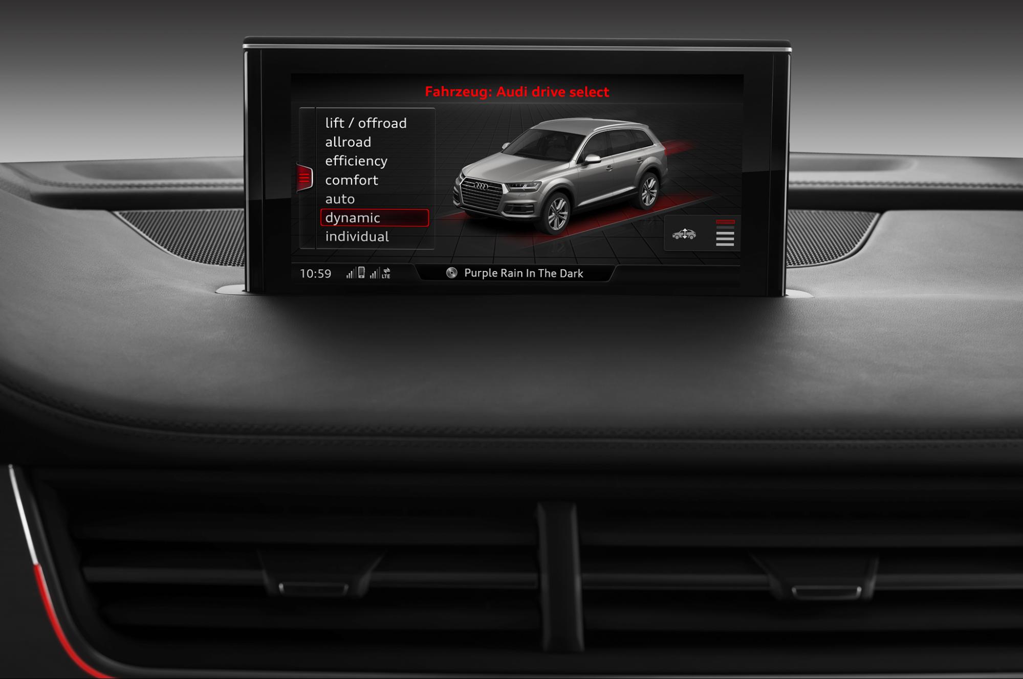 2018 Audi Q7 Drive Select