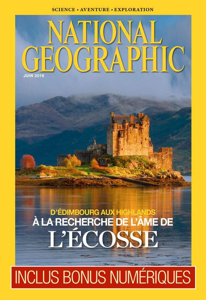 National Geographic - Juin 2016