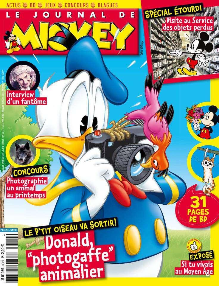 Le Journal de Mickey - 6 au 12 Avril 2016