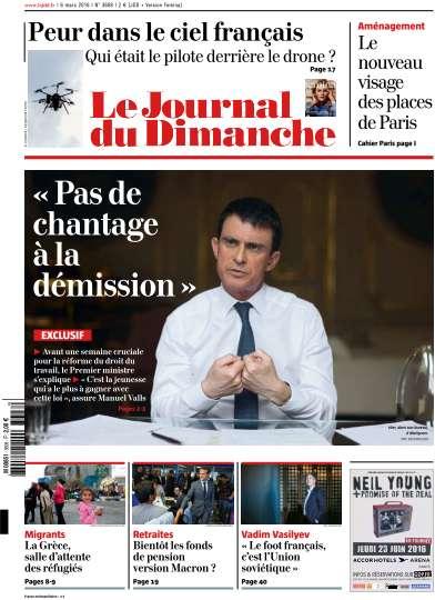 Le Journal du Dimanche - 6 Mars 2016