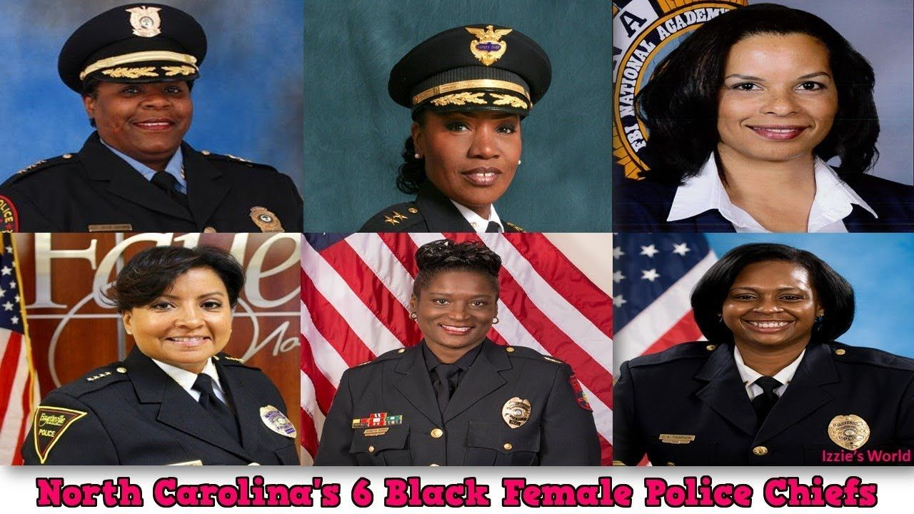 North Carolina's 6 Black Female Police Chiefs 2017