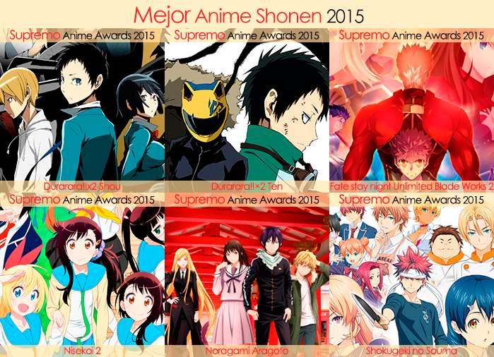 Final X Categorias Nominados a Mejor Anime Shonen 2015