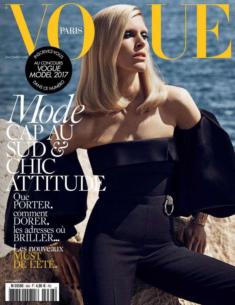 Vogue Paris 968 - Juin/Juillet 2016