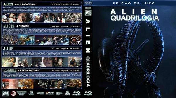 Alien Quadrilogy - BluRay Rip