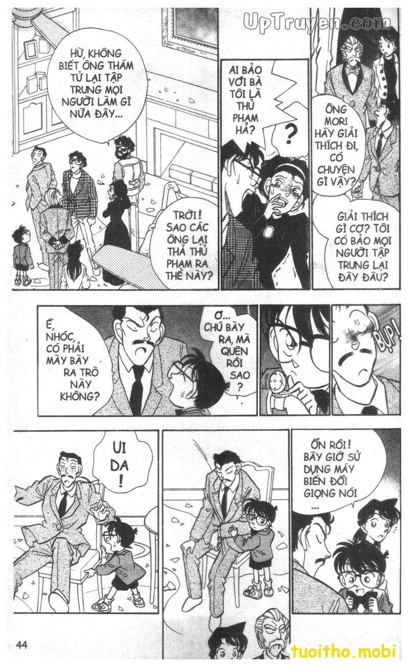 đọc truyện Conan bộ đặc biệt chap 20 trang 3