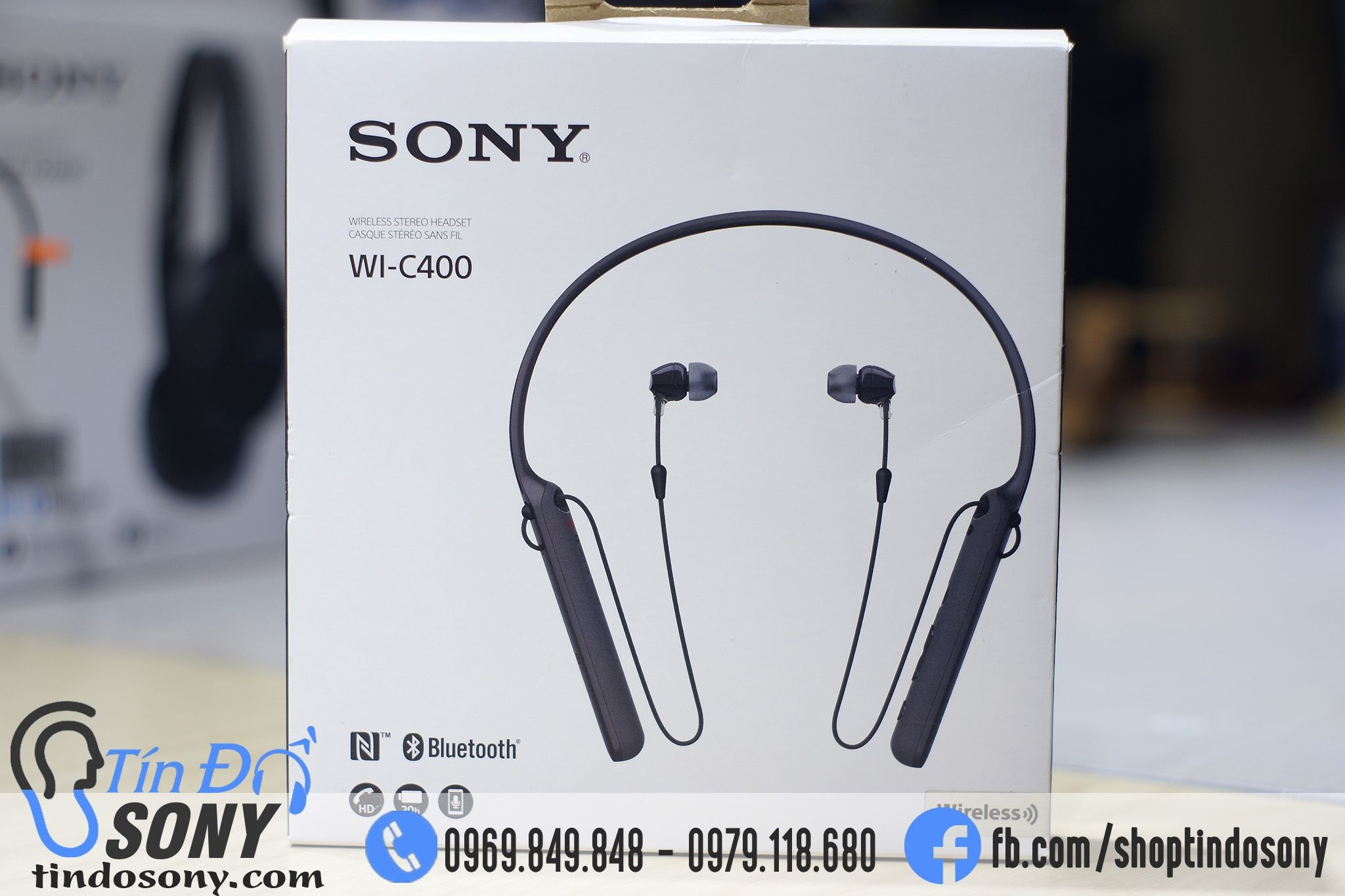 Sony WI-C400 ( Like New Fullbox)