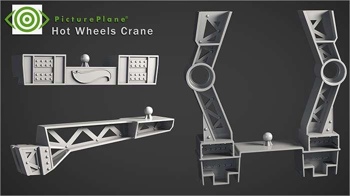 Hot Wheels Crane Set Apart