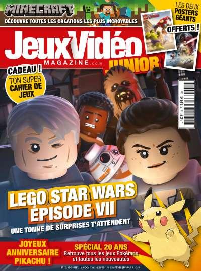 Jeux Vidéo Magazine Junior - Février/Mars 2015